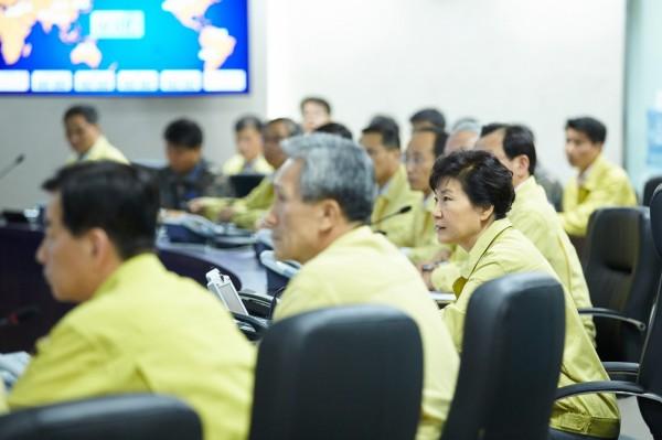 朴槿惠強調,絕對不能容忍北韓危及南韓官兵和民眾安全的任何挑釁。(歐新社)