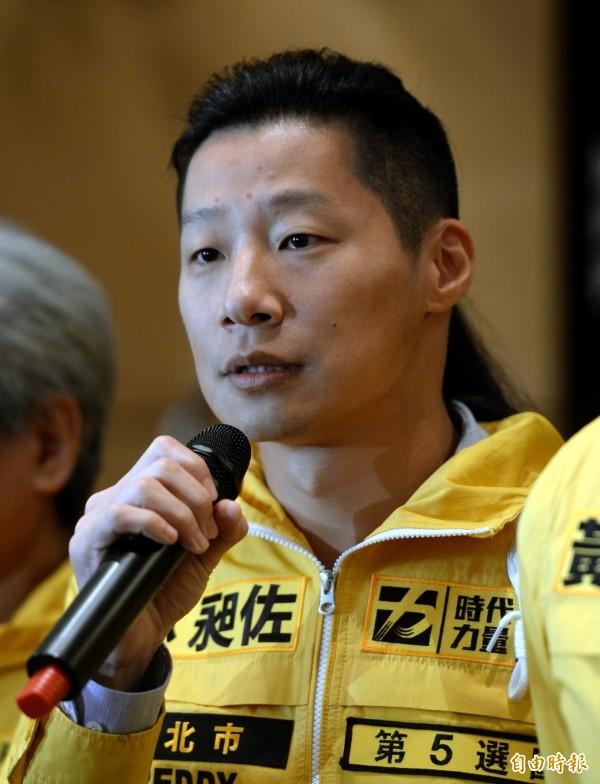 林昶佐感嘆中華民國政權缺乏同理心來理解台灣人,該文章竟被惡意攻擊下架下架。(資料照,記者林正堃攝)