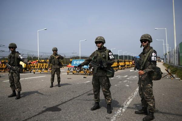 朝鮮半島緊張情勢日益升溫。(路透)