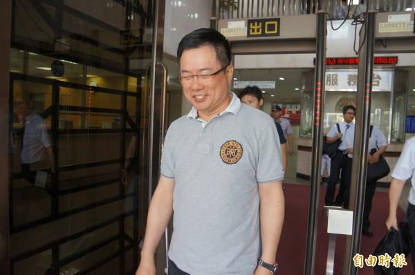 立委蔡正元表示募兵制有實行上的困難。(資料照,記者錢利忠攝)