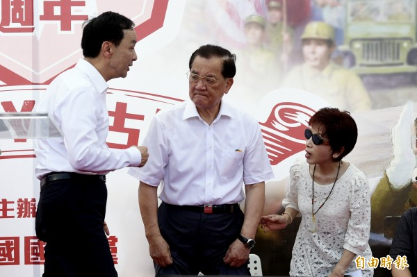 前副總統、前國民黨主席連戰無視馬政府反對,執意出席中國九三大閱兵,且將與中國領導人習近平會面。(資料照,記者叢昌瑾攝)
