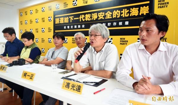民進黨人士透露,台聯受到時代力量影響,明年的立委席次可能掛蛋。(資料照,記者陳志曲攝)