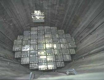 慶州處置場是一座214平方公尺規模的地下洞穴,相當於6棟27層樓深的建築,一共可處置10萬桶核廢料。圖為芬蘭核電廠低放射性核廢料處置窖。(圖取自行政院原子能委員會網站)