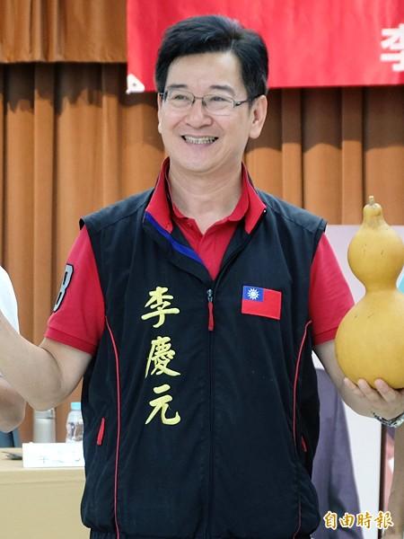 李慶元透露,他在郝市府時期打了數十件弊案,致使郝龍斌對他非常不滿。(記者盧姮倩攝)