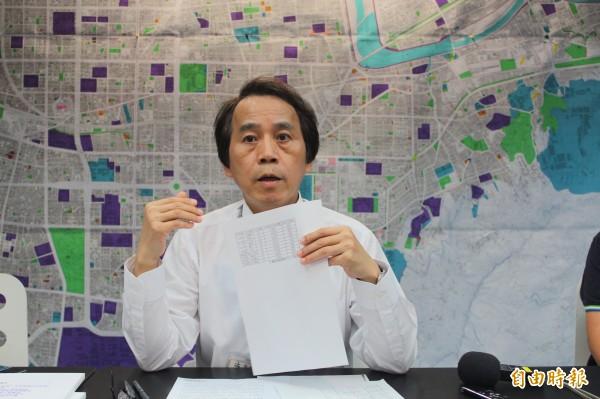 林欽榮昨透露未來公共住宅的出租金額會訂為市價的85折。(資料照,記者鍾泓良攝)