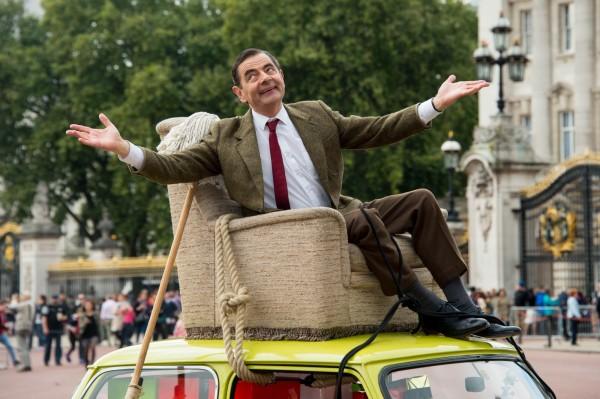 飾演「豆豆先生」的演員阿特金森(Rowan Atkinson)以滑稽、幽默的表演技巧擄獲全球觀眾的歡心。(美聯社)