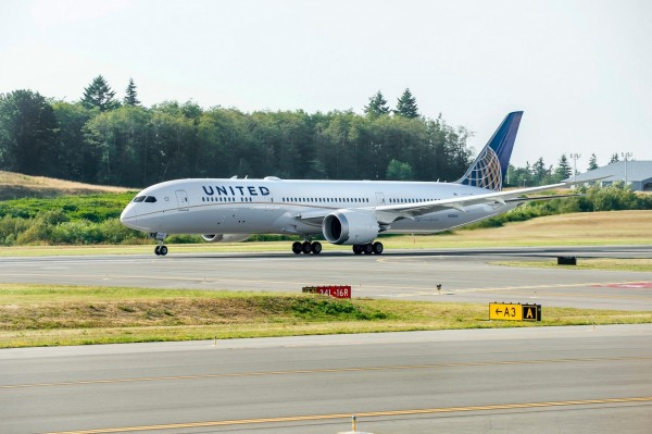 自2016年3月起,聯合航空將以波音787-9客機營運台北–舊金山航線。(聯合航空提供)