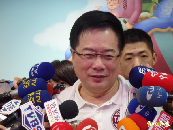 蔡正元又未經同意任意轉載版權圖片。(資料照,記者郭安家攝)