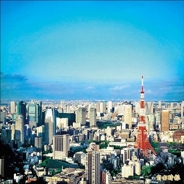 「DailyView網路溫度計」公布國人最愛日本的10大城市,東京名列前茅,票數遠勝第二名的大阪。(記者甘芝萁攝)