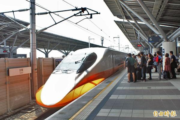 台灣高鐵10月8日至12日加開94班列車,另規劃253班次適用「大學生優惠」。(記者吳俊攝)