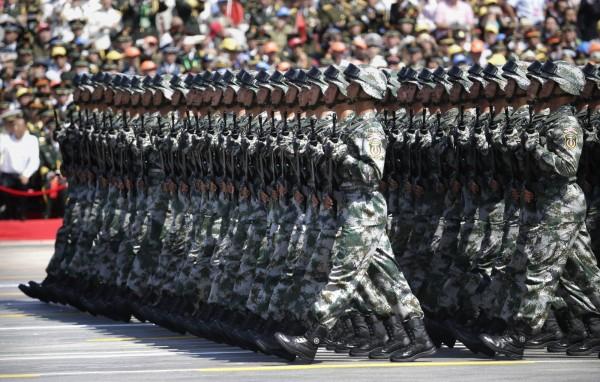 中國解放軍。(資料照,法新社)