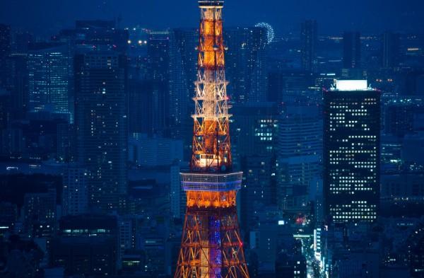 「旅行酒吧」整理出2015上半年東京10大人氣景點,東京知名地標東京鐵塔(圖)竟然未進榜。(彭博社)
