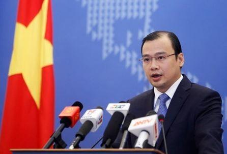 越南對中國在南海架設4G網路表達抗議。(截取自越南新聞)