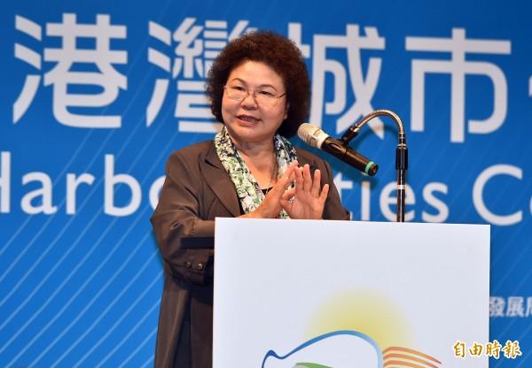 《TVBS》針對目前12名主要政治人物進行「聲望調查」結果出爐,高雄市長陳菊蟬連冠軍寶座。(資料照,記者張忠義攝)