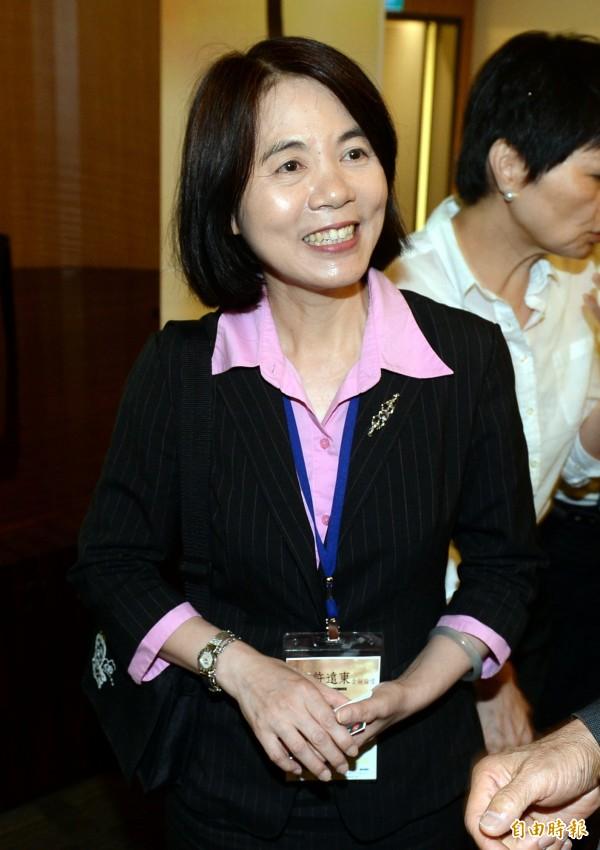 台北市副市長周麗芳表示,同志權益是重要的人權議題,「希望所有性傾向的市民朋友都能享有同樣的祝福」。(資料照,記者林正堃攝)