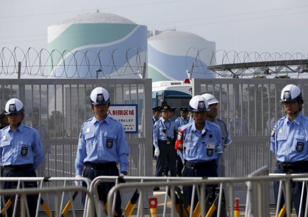 福島核電廠今天開始排放輻汙水入海。(路透)