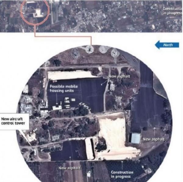 美國五角大廈發言人戴維斯表示,俄羅斯可能將會在敘利亞沿岸建立「空軍前線作戰基地」。(圖擷取自BBC)