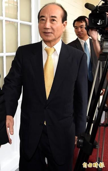 前總統李登輝日前受訪時表示立法院長王金平未來可能會是國民黨主席,王金平16日回應表示,「那是他的想法,我們給予尊重」。(記者朱沛雄攝)