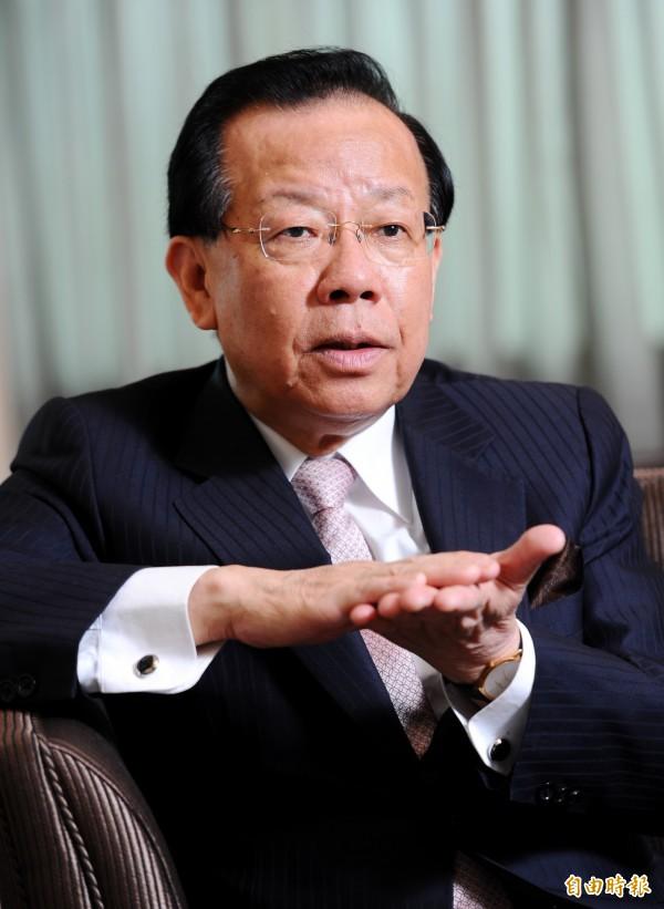 前財政部長顏慶章專訪。(資料照,記者張嘉明攝)