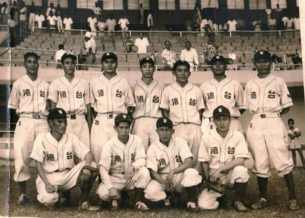 1951年的國家成棒代表隊,也是台灣史上第一支國家隊。(圖擷取自PTT)