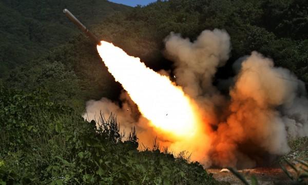 北韓可能在勞動黨建黨週年前後發射導彈。(資料照,歐新社)