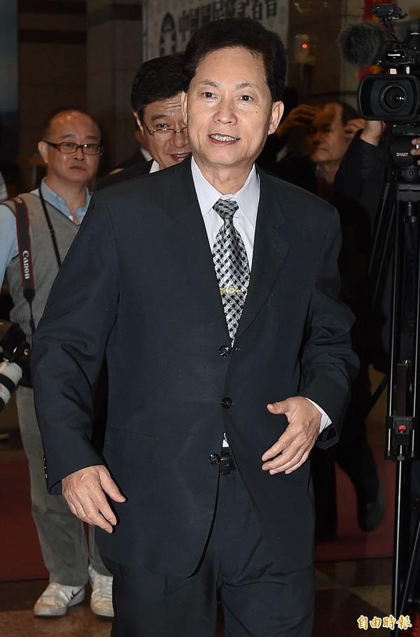 立委盧嘉辰表示,有10位立委提名人以拒選為要脅,逼國民黨中央撤換總統提名人洪秀柱。(資料照,記者廖振輝攝)
