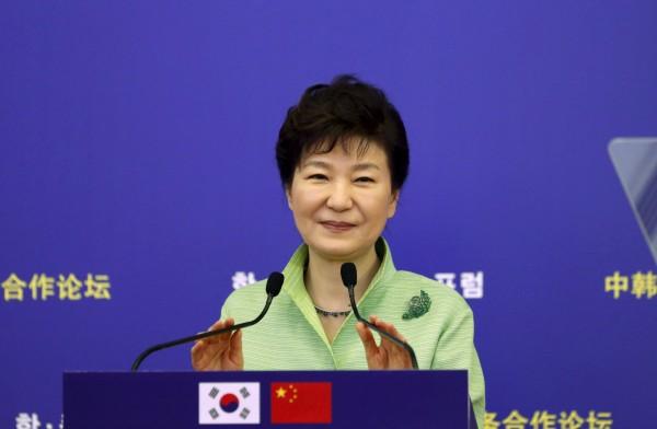 南韓總統朴槿惠。(路透)