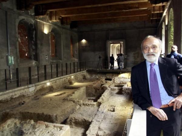 義大利考古學團隊近日對外聲稱發現了「蒙娜麗莎」的骸骨。(美聯社)