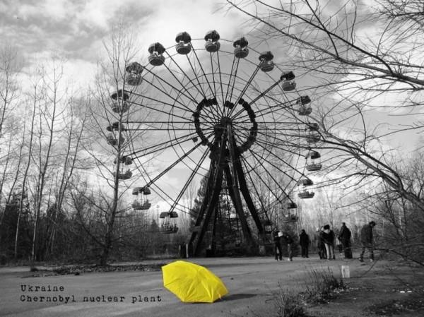 烏克蘭。(圖擷自《在世界看見雨傘 The traveling umbrella》臉書專頁)