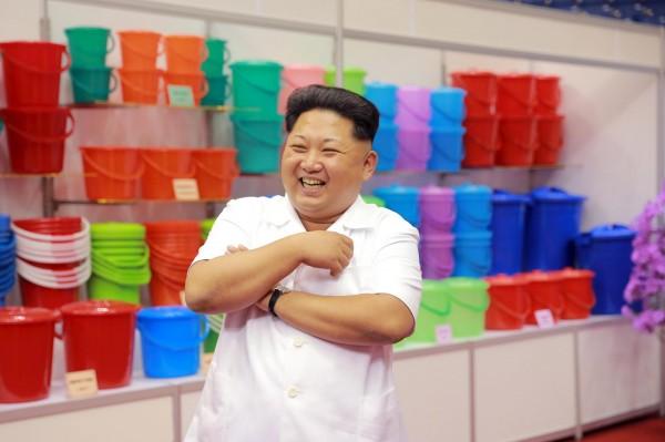 北韓最高領導人金正恩身形變胖。(資料照,路透)