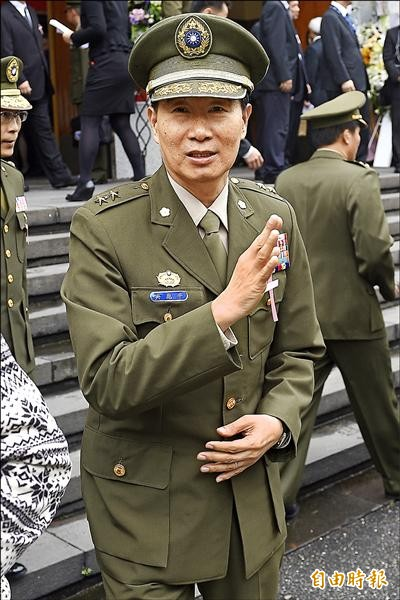 國防部憲兵指揮部指揮官吳應平中將。(資料照,記者陳志曲攝)