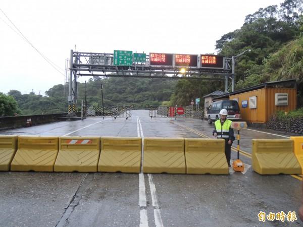 杜鵑颱風來襲,公路總局發布預警性封閉路段,圖為蘇花公路資料照。(資料照,記者王揚宇攝)