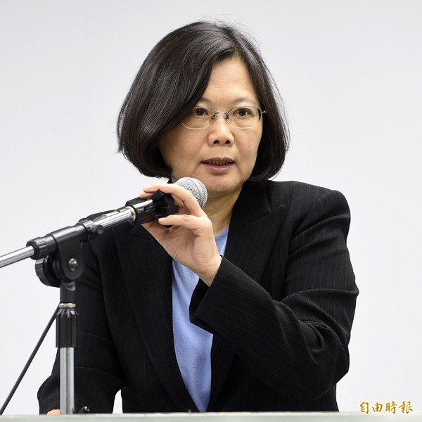 台灣指標民調昨公布總統大選民調,蔡英文領先幅度持續擴大。(資料照)