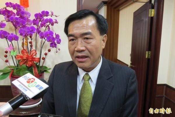 台南市議長李全教因比洪秀柱年輕,又來自中南部,被推薦為洪秀柱副手人選。(資料照,記者蔡文居攝)
