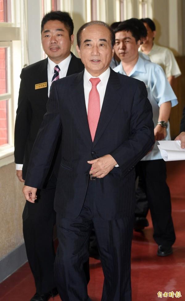 媒體詢問立法院長王金平「現在換柱不可能嗎?」王說「這我不清楚」。(資料照,記者羅沛德攝)