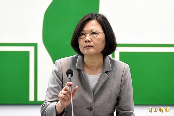 民進黨總統參選人蔡英文將於本月六日至九日訪問日本。(資料照)