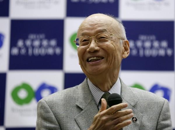 大村智在得知獲得諾貝爾獎後戲稱,「應該頒給微生物才對」。(歐新社)
