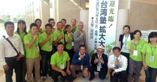 高雄型農挺進日本農業論壇,分享高雄經驗。(農業局提供)