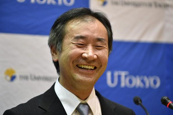 梶田隆章獲2015年諾貝爾物理獎。(歐新社)