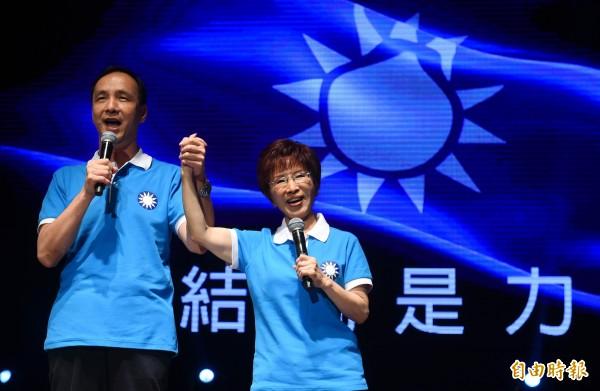 國民黨中央將召開臨時全代會完成「換柱」計畫。(資料照,記者張嘉明攝)