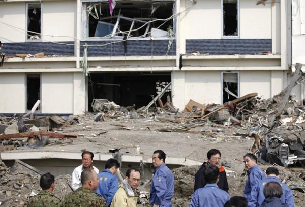 2011年3月日本東北大地震,對當地造成嚴重的損害。(路透社)