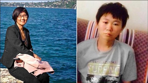 維權律師王宇被捕後,驚傳兒子(右圖,取自網路)遭到綁架。