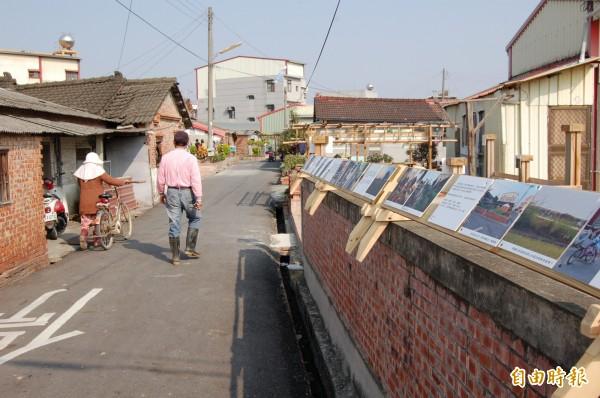 後壁區仕安區投入農村再生,老社區再展新活力。(資料照,記者王涵平攝)