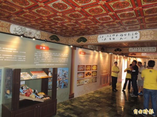 代天宮歷史文物館預計於11月中旬開放參觀。(記者葛祐豪攝)