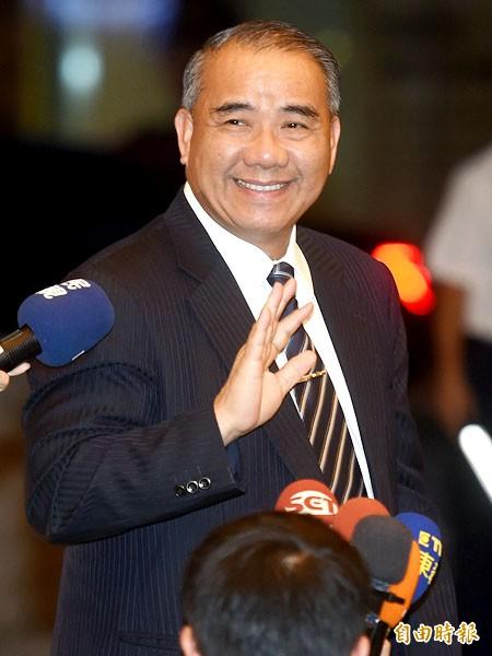 立委廖國棟表示,若撤換洪,將有黨代表提案要求徵召。(資料照,記者簡榮豐攝)