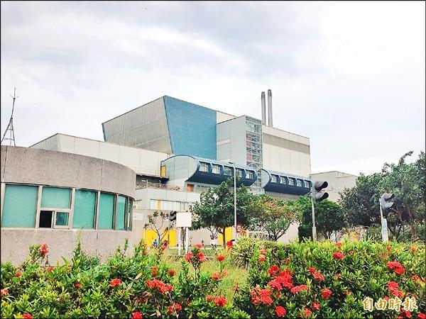 台東縣焚化廠已10年未用。(記者王秀亭攝)