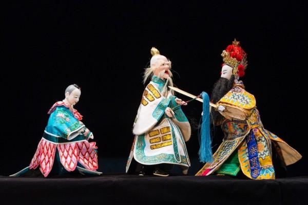 台北木偶劇團「哪吒小英雄」,將前進台南市大內、楠西及北門區演出。(台南市文化局提供)