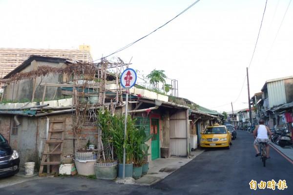 嘉禾新村是台北市區僅存的自建型聯勤眷村,已有超過70年歷史,可追溯到日治時期之川端公園及日軍砲兵聯隊營房的遺跡。(資料照,記者游蓓茹攝)