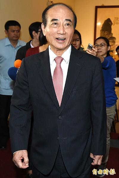立法院長王金平。(記者廖振輝攝)