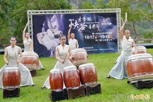 太魯閣峽谷音樂節「天地共舞」明起登場,周末兩日太管處將實施階段性交通管制。(記者王峻祺攝)